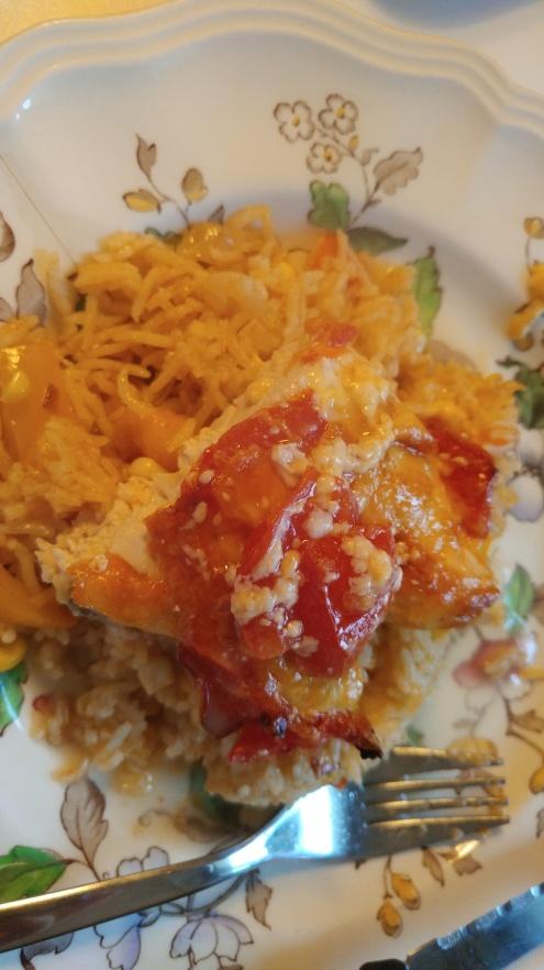 The Chicken dish